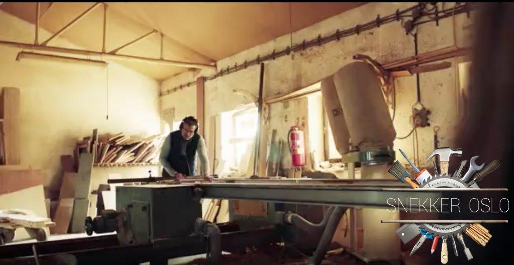 tømrerarbeid oslo